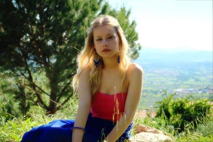 maxi dress Sammydress outfit fashion blogger italiane petite models