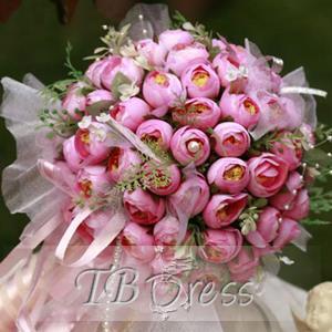 bouquet da sposa di fiori finti theFashiondiet fashion blog