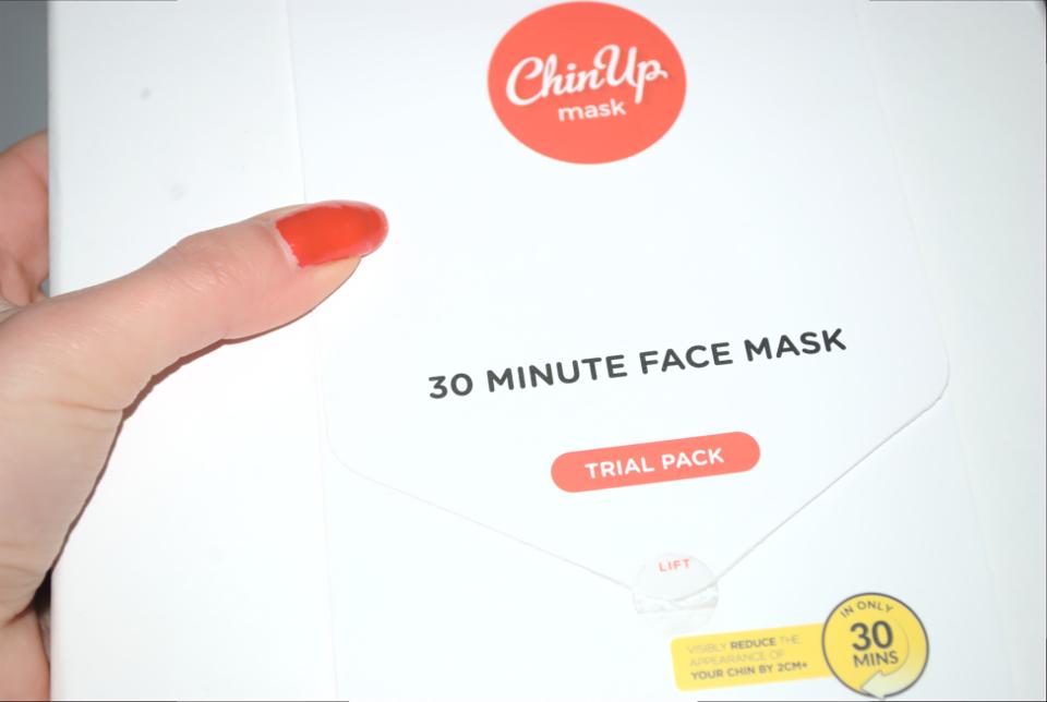 ChinUp Mask: eliminare il doppio mento velocemente, Teresa Morone bellezza blog, beauty blog Italia,