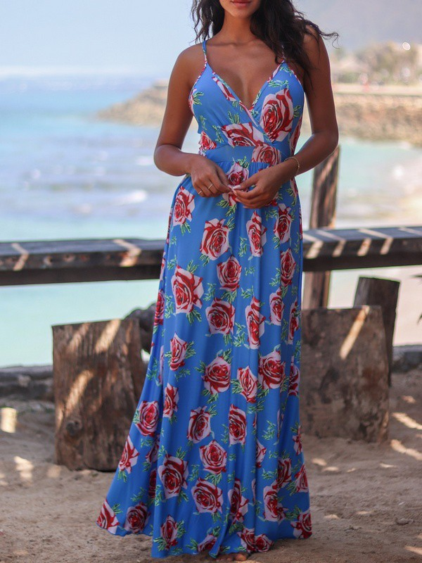 Boho-chic, stile boho, maxi dress, summer maxi dress,