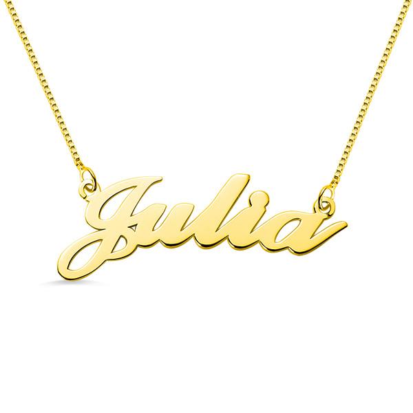 Gioielli personalizzati e collane con nome