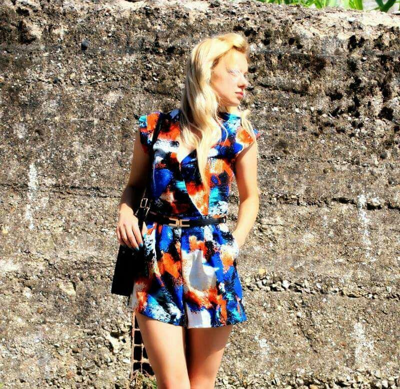 Fashion blogger Napoli