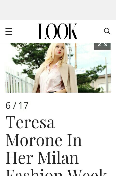 Teresa Morone, fashion influencer,